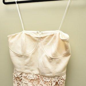 Pins & Needles Lace mini dress 2P fits like 0